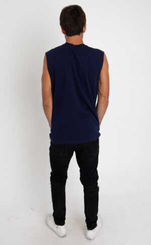 Reactive Dyed Muscle Tee