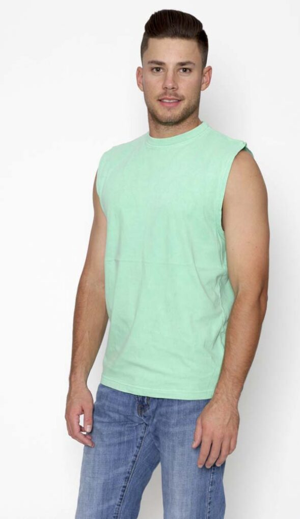 Garment Dyed Muscle Tee