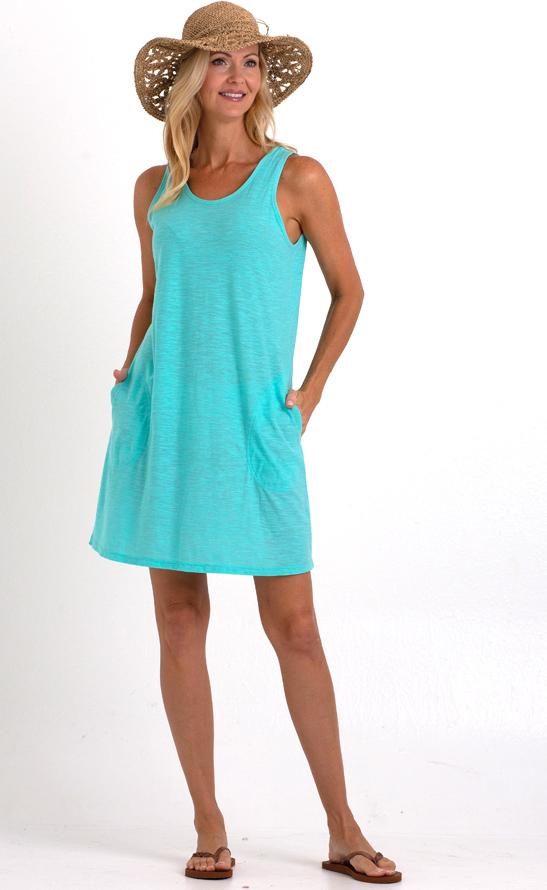 Slub Tank Dress