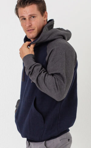 2-Tone Pullover Hoodie