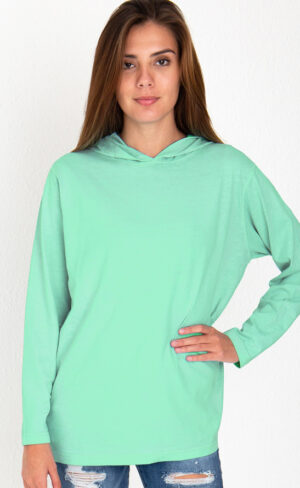 Garment Dyed Hoodie Tee