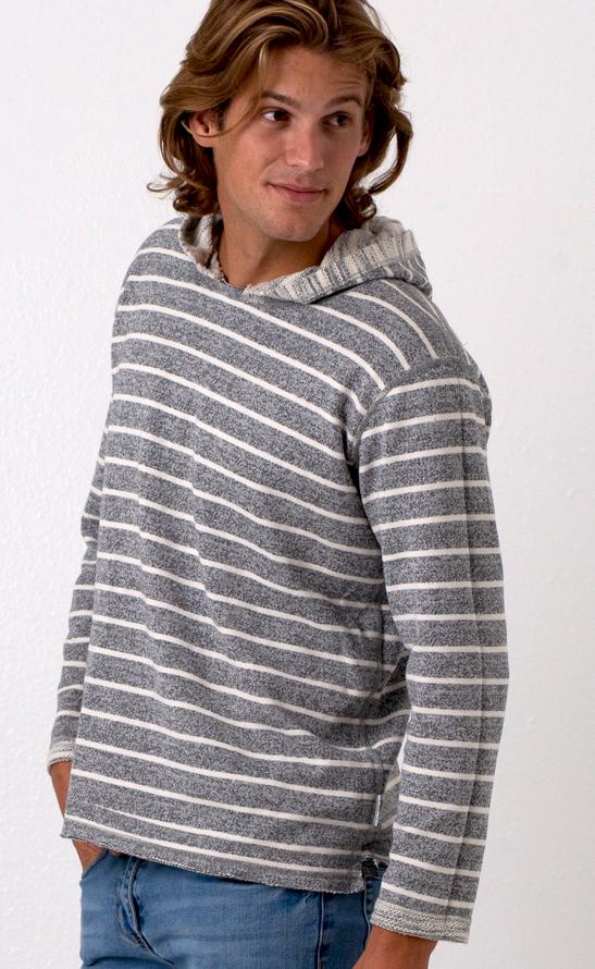 Reversible Yarn Dyed Hoodie