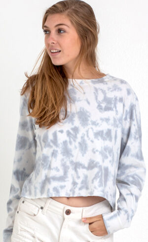 Long Sleeve Tie Dye Tee